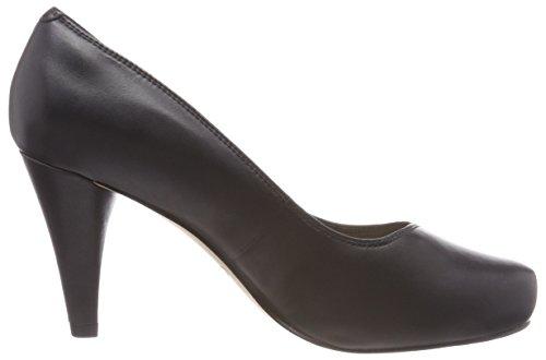Clarks Damen Dalia Rose Pumps Schwarz (Black Leather)