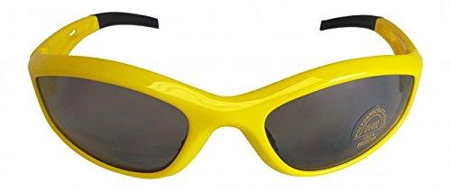 Sonnenbrille Hulk Hogan Retro Gelb