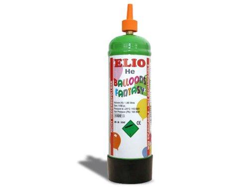 Preisvergleich Produktbild 1 Stück 'Elio' Helium-Einweg-Kartusche / Luftballongas UN1046