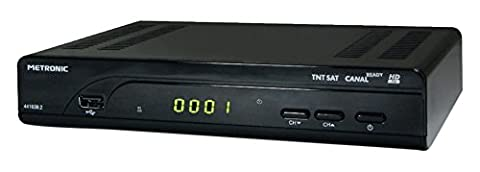 Decodeur Metronic - Metronic Terminal Satellite TNTSAT HD + Carte