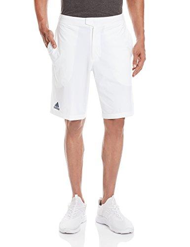 adidas Herren Shorts Barricade BERMU, Weiß/Blau, XL, 4055344257166