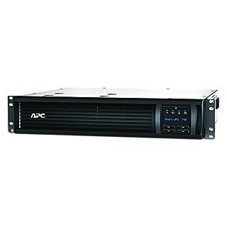 APC Smart-UPS SMT - Unterbrechungsfreie Stromversorgung 750VA Rackmodell 2U - SMT750RMI2U - Line Interactive, AVR, LCD Display, 4 Ausgänge IEC-C13, Shutdown Software