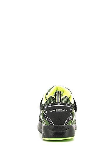 Calzature sportive bambino, colore Verde , marca LUMBERJACK, modello Calzature Sportive Bambino LUMBERJACK SHINE Con Luces Verde Verde