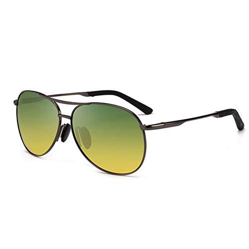Klassische übergroße Fahren Polarisierte Sonnenbrille,aviator Anti Glare Stilvoller Uv-schutz Geeignet Für Wandern Baseball-gun Frame Nachtsicht 15x14cm(6x6inch)