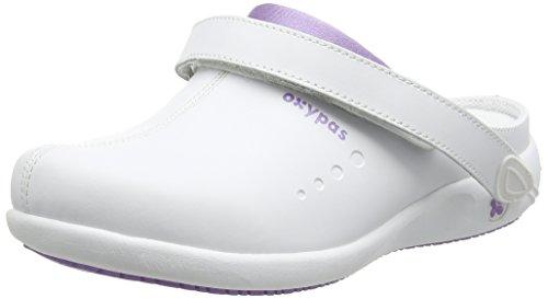 OXYPAS Doria, Chaussures de Sécurité Femme Blanc (lic)