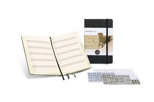 Moleskine Passion Journal / Hunde / Large / Fester Einband mit Prägung / Schwarz