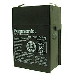 Panasonic LC-R064R2P batterie au plomb de 6 volts, 4500mAh