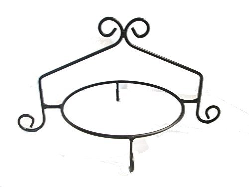 Amish Single (Wrought Iron Pie Stand/Rack Single Tier Hand Made by Hand Crafted & American Made!)