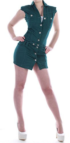 Style- Station24 - Vestido - Bandeau / bustier - para mujer verde S