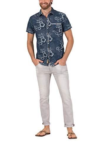 Timezone Herren Slim ScottTZ Skinny Jeans, Grau (Silver Grey wash 8646), W33/L34