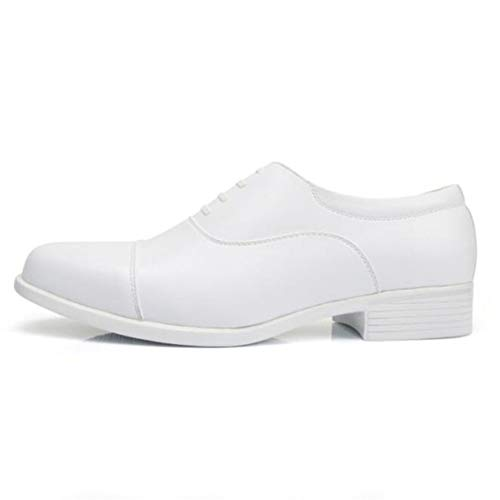 Feidaeu Männer Hochzeitskleid Schuhe wies Formale weiße große Größe atmungsaktive Oxfords...