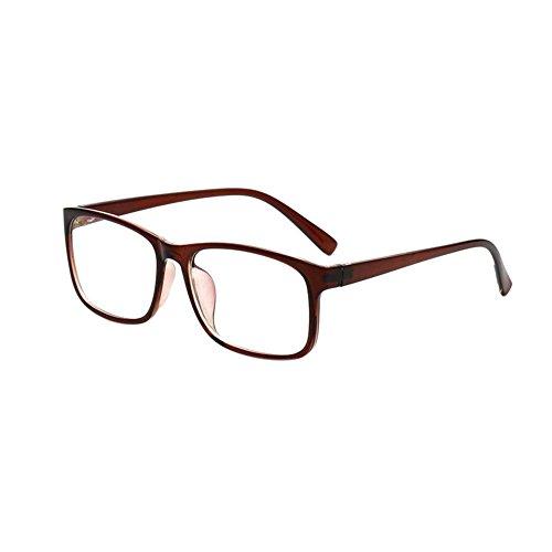 Deylaying Retro Optische Gläser Ultra-Licht Brille Rahmen Mode Unisex Eyewear