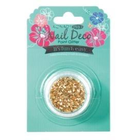 Points scintillant glitter - OR - Konad nail art decoration ongles