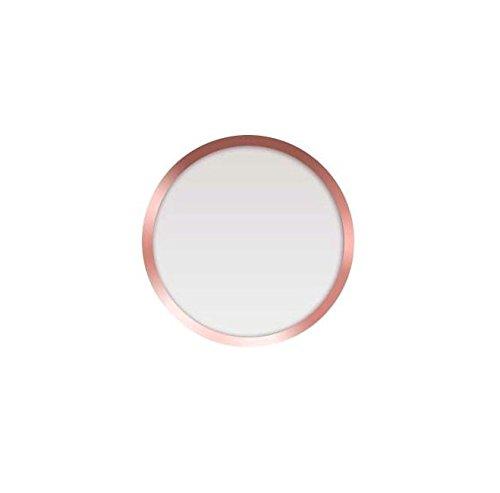 Preisvergleich Produktbild CELLBEE Home Button Touch ID Sticker Kompatibel mit iPhone iPad Aufkleber 2.0 - Erhöhung bei iPhone 6 6s 7 8 Plus iPad Air Mini Panzerglas (2 Stück,  Rosé)