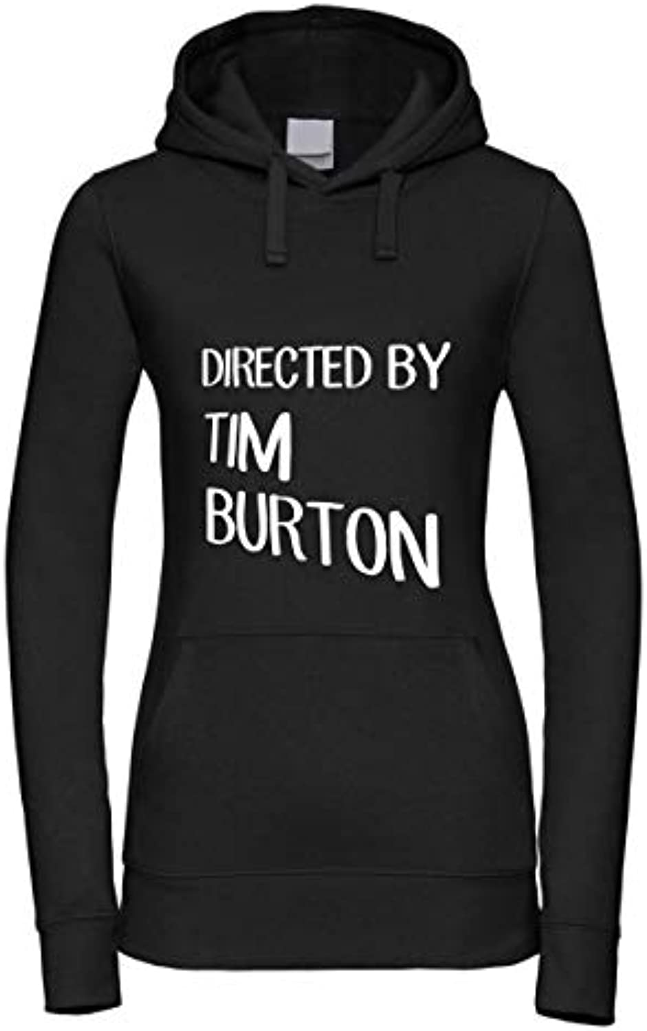 Felpa Donna con Cappuccio Made -Directed by Tim Burton- Made Cappuccio in  0a8c37 fbf2b5042227