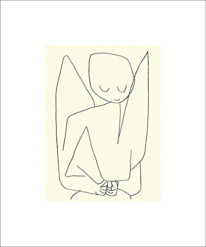 Germanposters Paul Klee Vergesslicher Engel, 1939 Poster Bild Kunstdruck Siebdruck 60x50cm