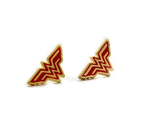 ***Limited Edition - WONDER WOMAN - *** EARRINGS *** - PREMIUM QUALITY - FAST UK DISPATCH -Justice League - D.C Universe *** ... (Wonder Woman Ohrringe)