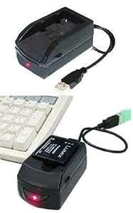 Chargeur de Batterie Appareil Photo E-force® pour PANASONIC Lumix DMC-S1 - 2.5W/0.5A