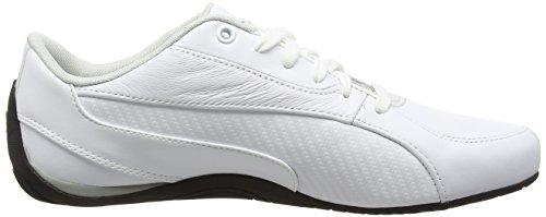Puma Driftcat5carbonf6, Scarpe Sportive Indoor Unisex – Adulto Bianco (PUMA WHITE 03)