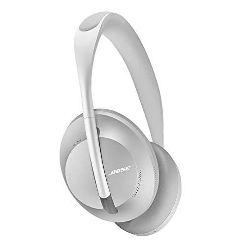 Bose Casque sans fil à réduction de bruit Headphones 700 avec Amazon Alexa intégré - Argenté