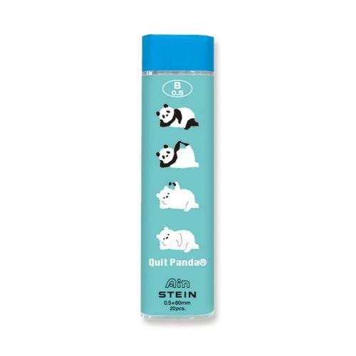 Süßes blaues lustiger Bär Panda mechanischer Bleistift Nachfüllset aus Japan -