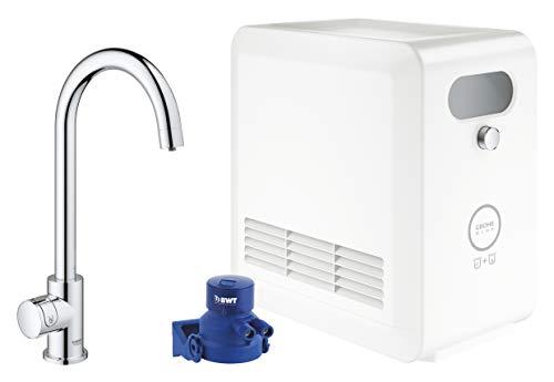 GROHE Blue Professional | C-Auslauf Starter Kit | mit Bluetooth und WiFi, chrom | 31302002