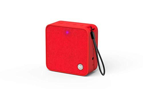Motorola Sonic Boost 210 - Altavoz inalámbrico Bluetooth, Color Rojo
