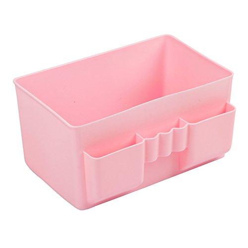 Hoobor House Ufficio di plastica dello storage desktop caso trucco Manager Storage Box?M+verde chiaro?