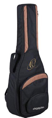 Ortega ONB34 hochwertige Konzertgitarren Tasche 3/4 Größe mit Rucksackgarnitur schwarz