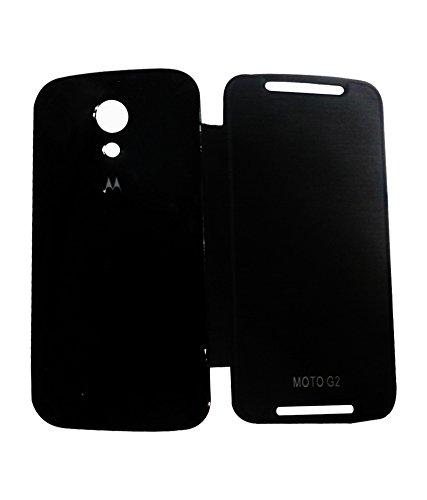 ENVY Flip Cover Case For Moto G 2nd Gen XT1068 (Black)