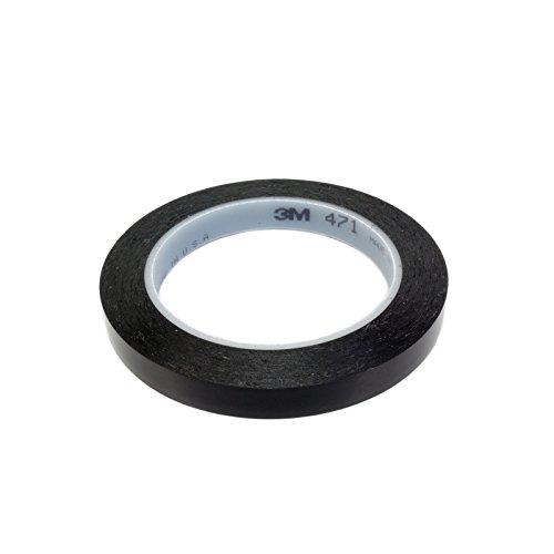 3M 471 Scotch Fineline Konturenband Zierlinienband lackieren Airbrush 12mm x 33m Schwarz