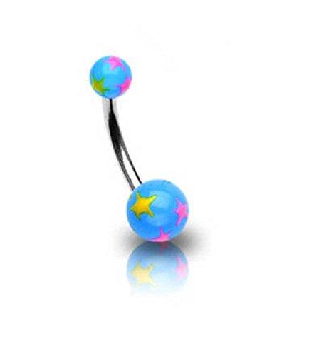 piercing-ombelico-in-acciaio-chirurgico-palla-acrilico-blu-e-macchie-di-colore