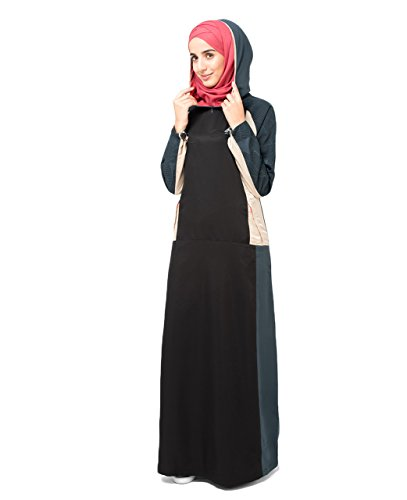 Silk Route Hooded Islamic Fashion Jilbab Abaya Burka