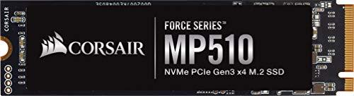 Corsair force mp510, 1920 gb, nvme pcie gen3 x4 m.2 - ssd, velocità di lettura fino a 3480 mb/s
