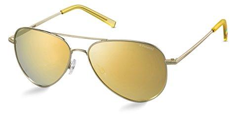 Polaroid Sonnenbrille für Damen und Herren - Polarisierte Gläser mit UV400-Schutz - Inklusive Einsteck-Etui und Mikrofasertuch Modell: PLD 6012/N (J5GLM, 56)