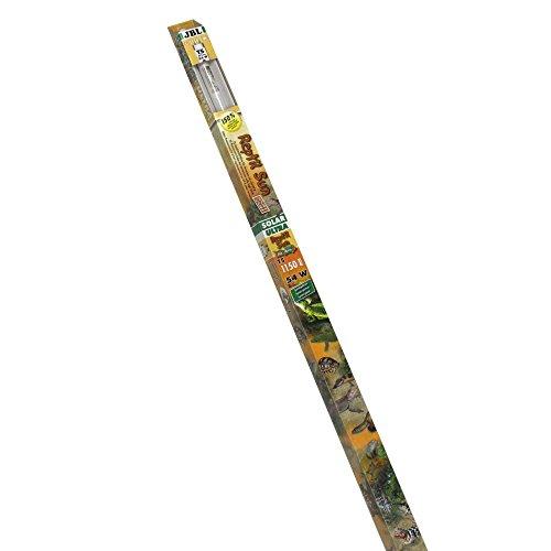 JBL 61599 Spezial Terrarienleuchtstoffröhre für Wüstentiere, Solar Leuchtstoffröhre, 115 cm, 54 W, Solar Reptil Sun Ultra T5