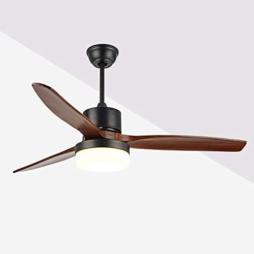 luz ventilador de techo, de 52 pulgadas Sala de estar moderna simple...