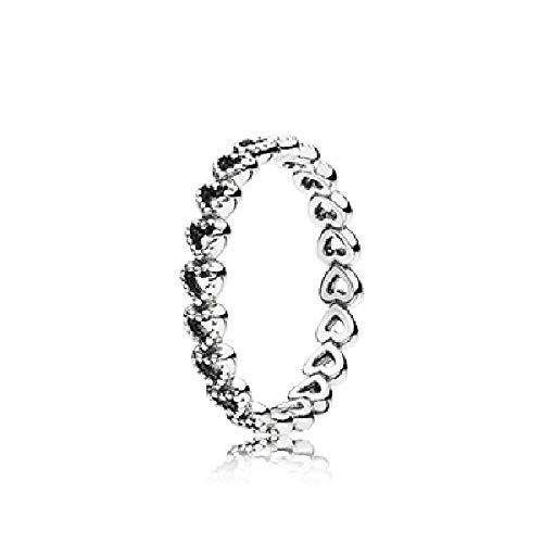Pandora Damen-Ring 925 Silber Gr. 56 (17.8)-190980-56