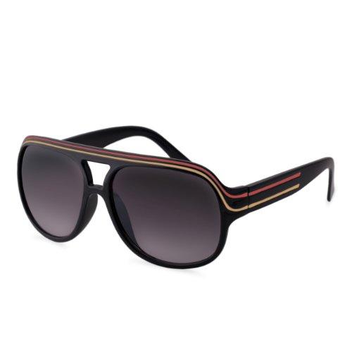 ManoaShark® Sonnenbrille Pilotenbrille Millionaire Hip Hop Brille - (Hip Sonnenbrille Hop)