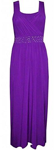 Sugerdiva - Robe - Crayon - Femme Noir noir 23-46 Violet
