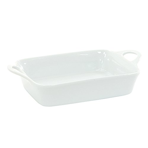 ProCook Porcelain Oven to Table Dish Small White