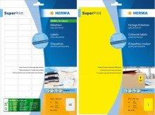 Preisvergleich Produktbild 3 PG Herma 5075 SuperPrint Etiketten Größe (BxH) 99,1x33,8 mm Inhalt/Blatt 400 Stück/25