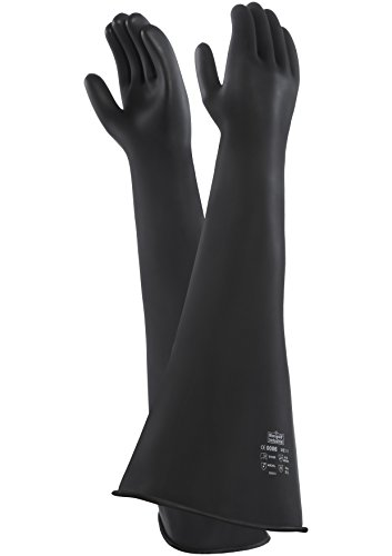 ansell-emperor-me107-natural-rubber-latex-gloves-chemical-liquid-protection-black-size-75-pack-of-1-
