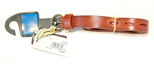 john-lewis-collection-slot-strap-tan-leather-belt-size-large