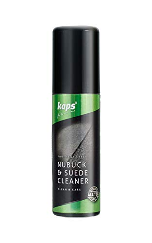 59ec6a30 Kaps Nubuck & Suede Cleaner Betún y reparación de zapatos, Transparente  (Neutral), 75.00 ml