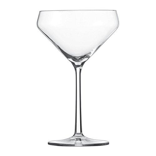 5 Serie Pure 6-teiliges Martiniglas Set, Kristallglas (Günstige Martini-gläser)