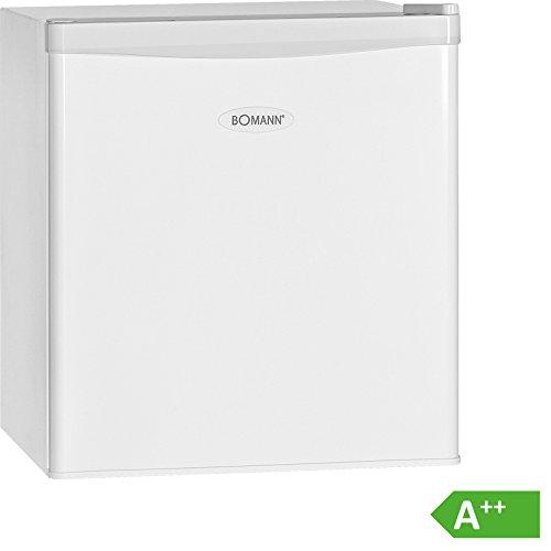 Bomann KB 389 Mini-Kühlschrank/A++/51 cm Höhe/84 kWh/Jahr/regelbarer Thermostat/Kühlmittel R600a/weiß