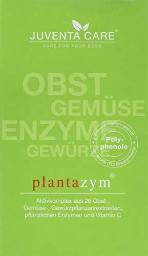 Juventa Care plantazym - Nahrungergänzungsmittel - mit natürlichen Enzymen und bioaktiven, antioxidativen Pflanzeninhaltsstoffen aus Früchten, Gemüse und Gewürzen, 120 Kapseln - Acai-früchte Kapseln