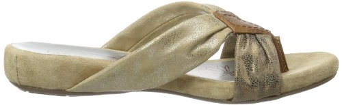 Jana Kalona, Tongs femme Or - Gold (BRONCE COMB 911)
