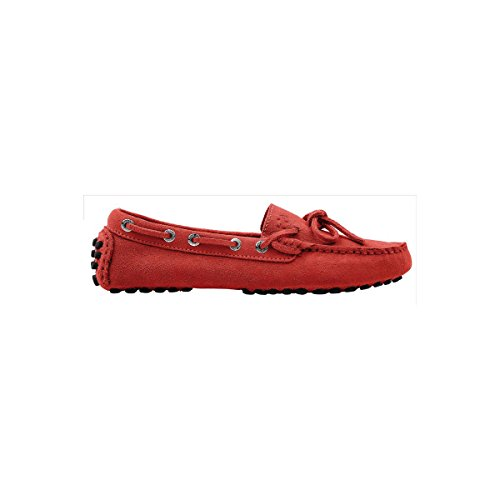 Superga 463-SUEW S001VH0, Mocassins femme Rouge - Bright Red